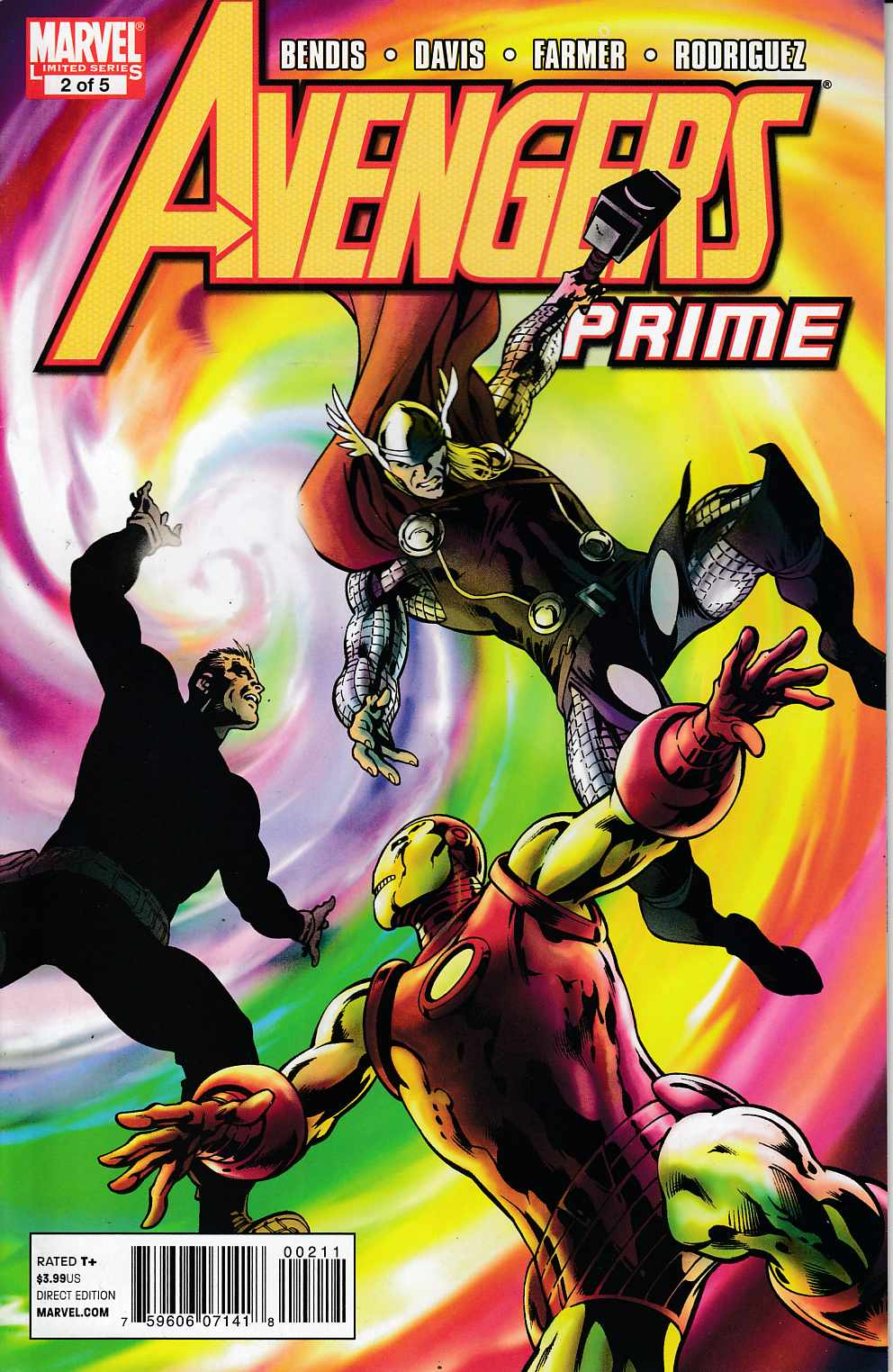 Avengers Prime #2 Very Fine (8.0) [Marvel Comic] THUMBNAIL