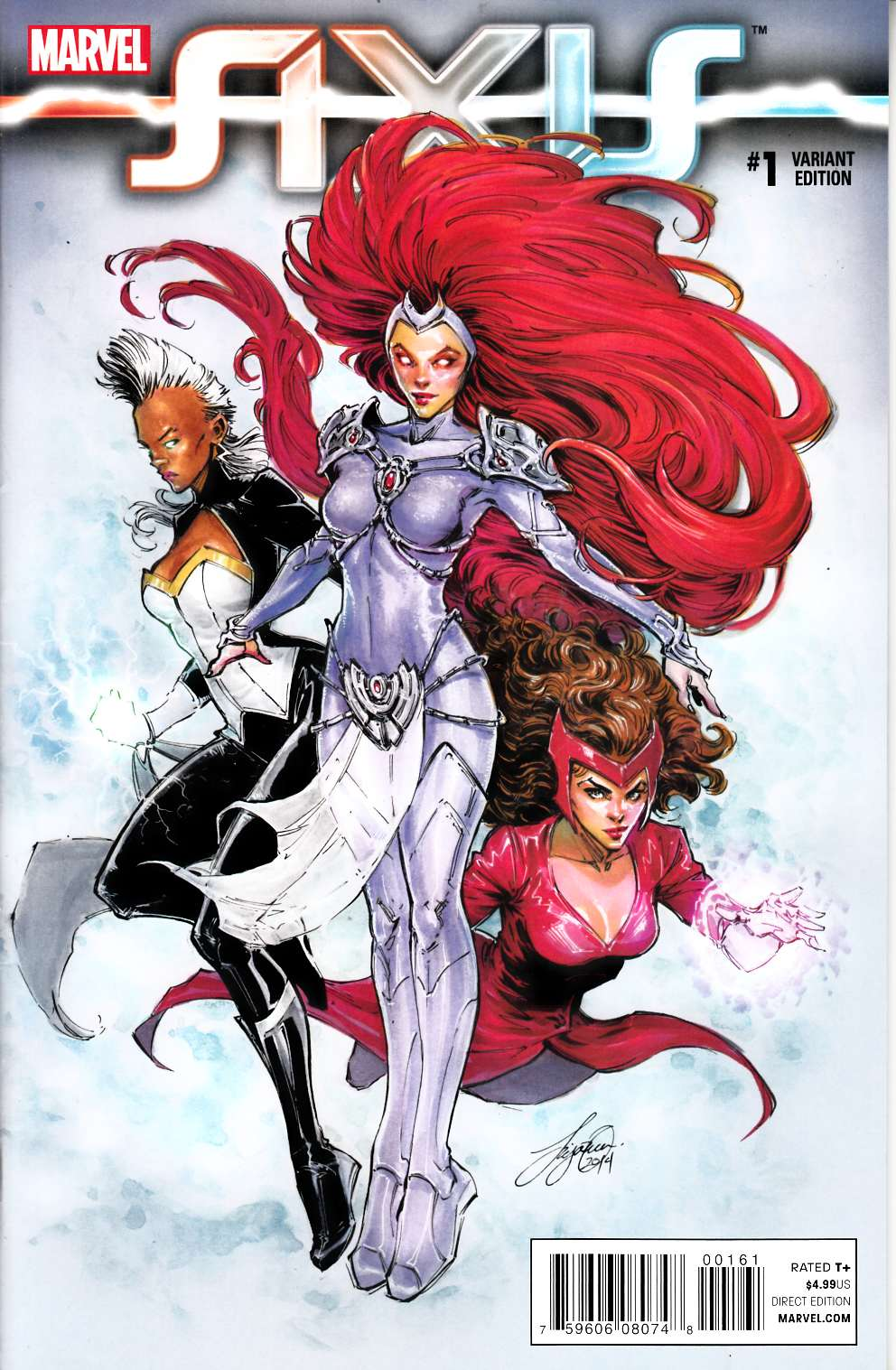 Avengers and X-Men Axis #1 Oum Variant Cover [Marvel Comic] THUMBNAIL