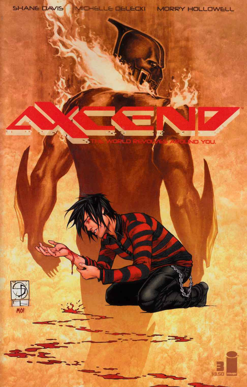 Axcend #3 Cover A- Davis Delecki & Hollowell [Image Comic] THUMBNAIL