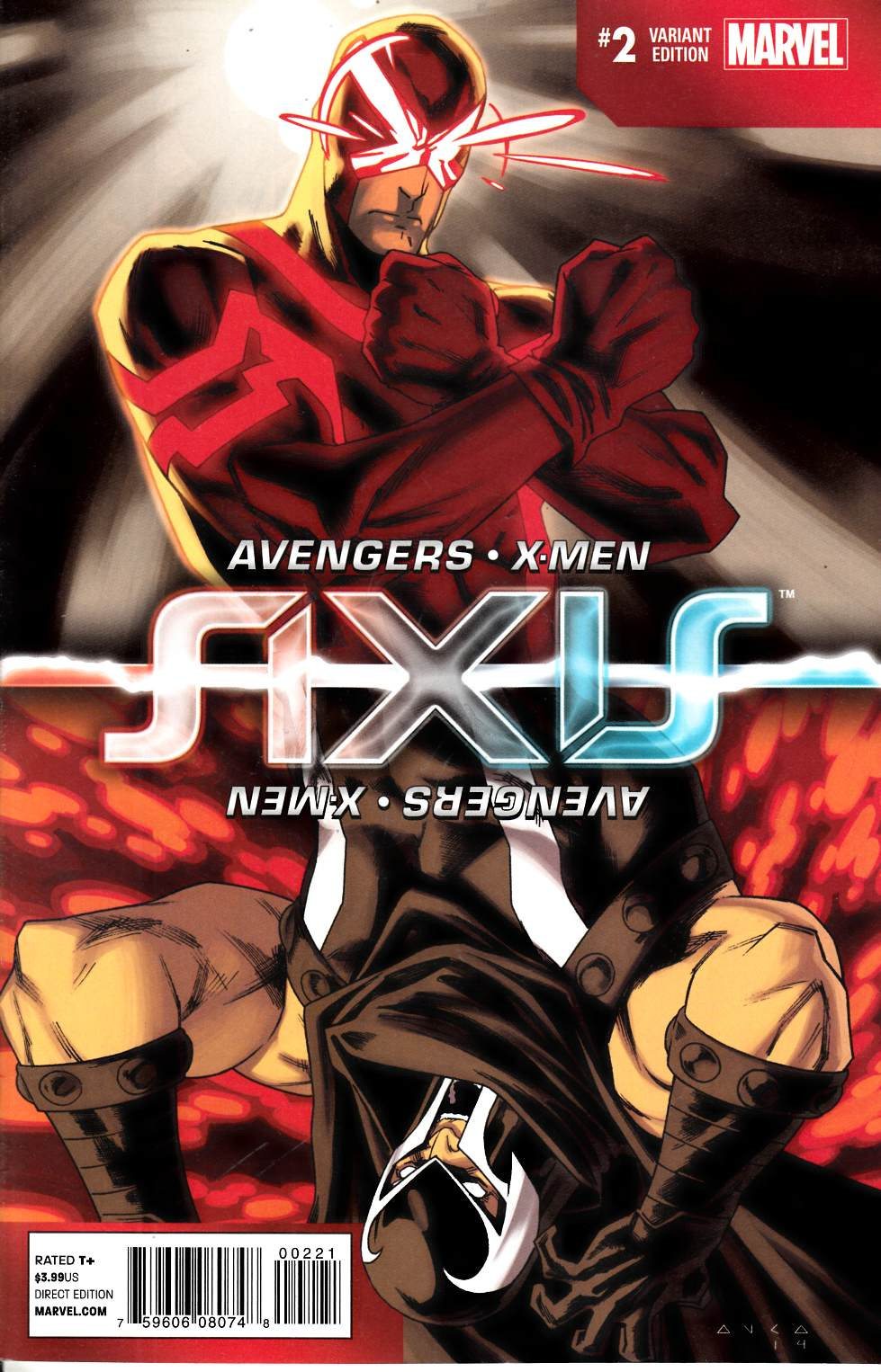 Avengers and X-Men Axis #2 Inversion Variant Cover [Comic] THUMBNAIL