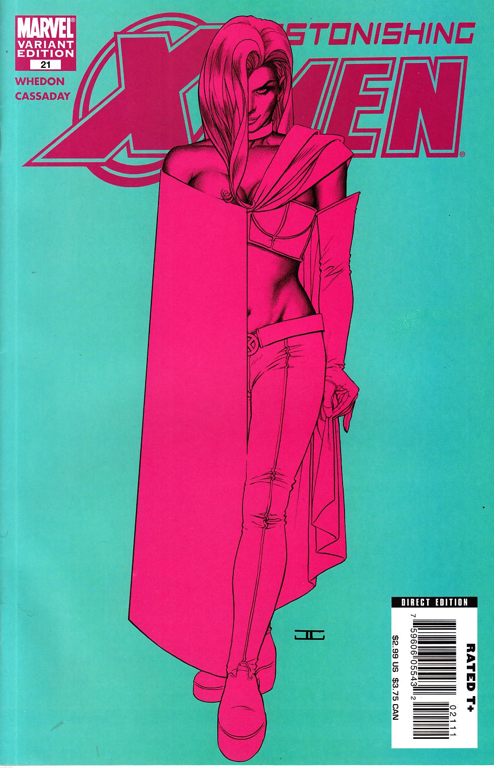Astonishing X-Men #21 Cover B [Marvel Comic] THUMBNAIL