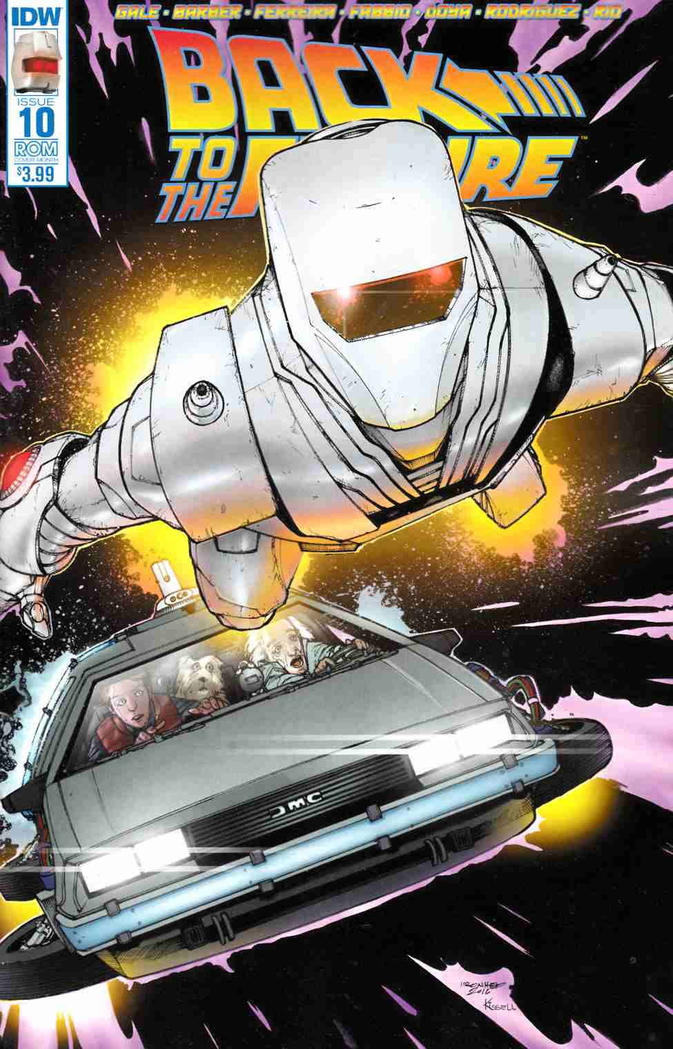 Back To the Future #10 ROM Cover [IDW Comic]_THUMBNAIL