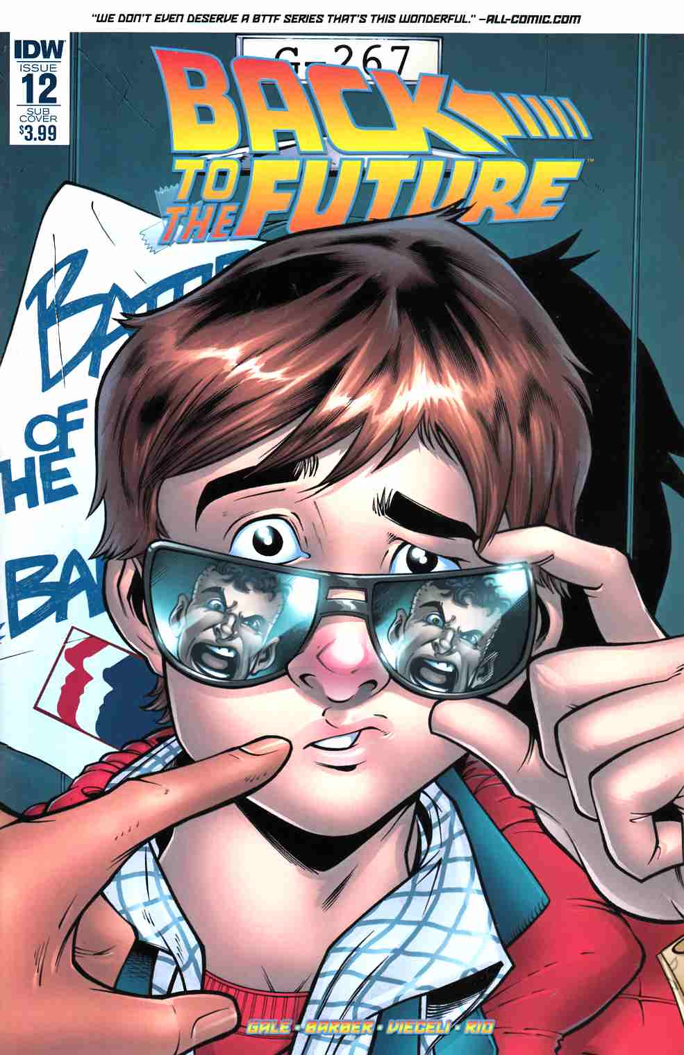 Back to the Future #12 Subscription Cover [IDW Comic]_THUMBNAIL