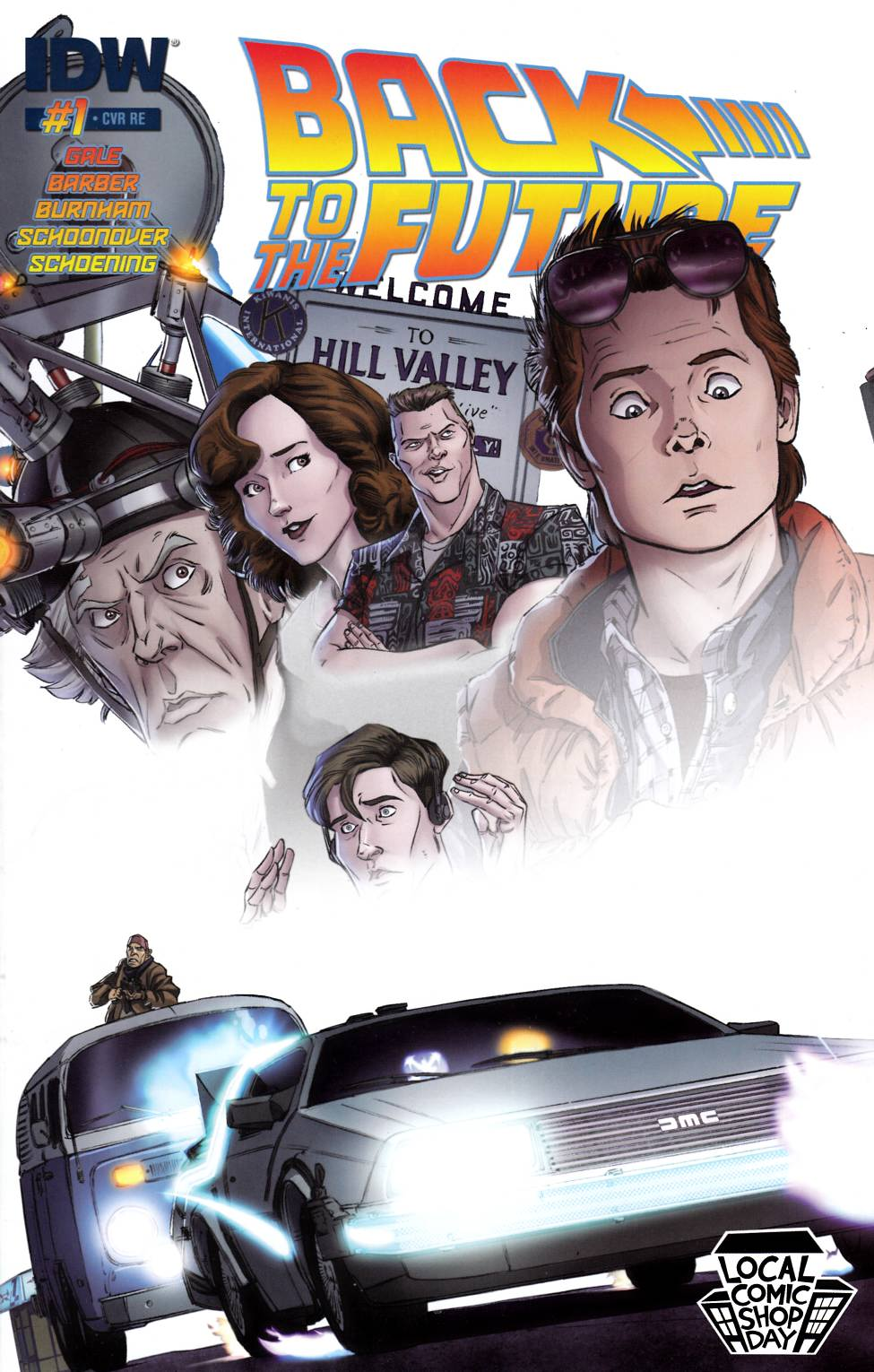 Back to the Future #1 LCSD 2015 Edition [IDW Comic]_THUMBNAIL