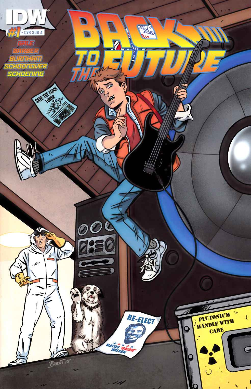 Back to the Future #1 Subscription A Cover [IDW Comic]_THUMBNAIL