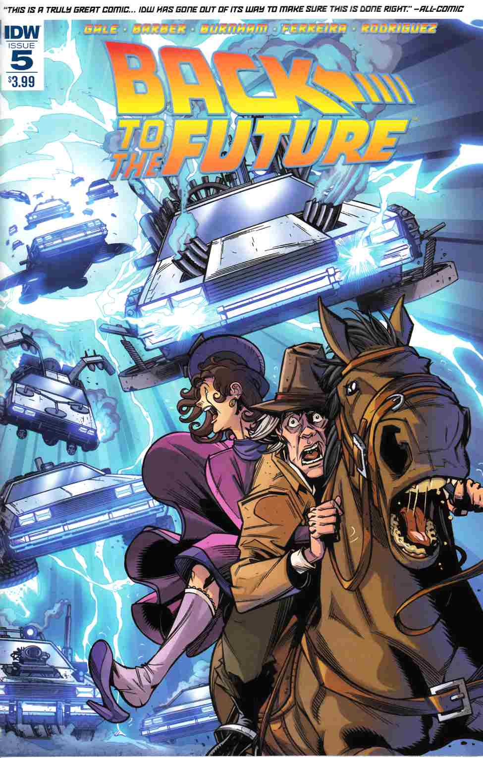 Back to the Future #5 [IDW Comic] THUMBNAIL