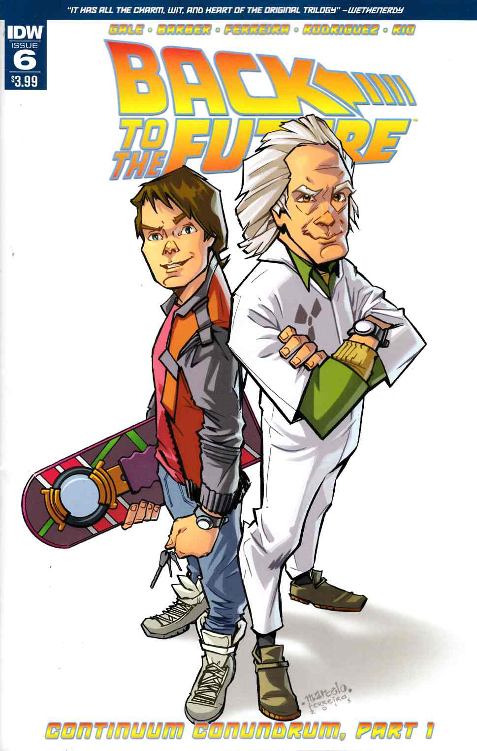 Back to the Future #6 [IDW Comic] THUMBNAIL