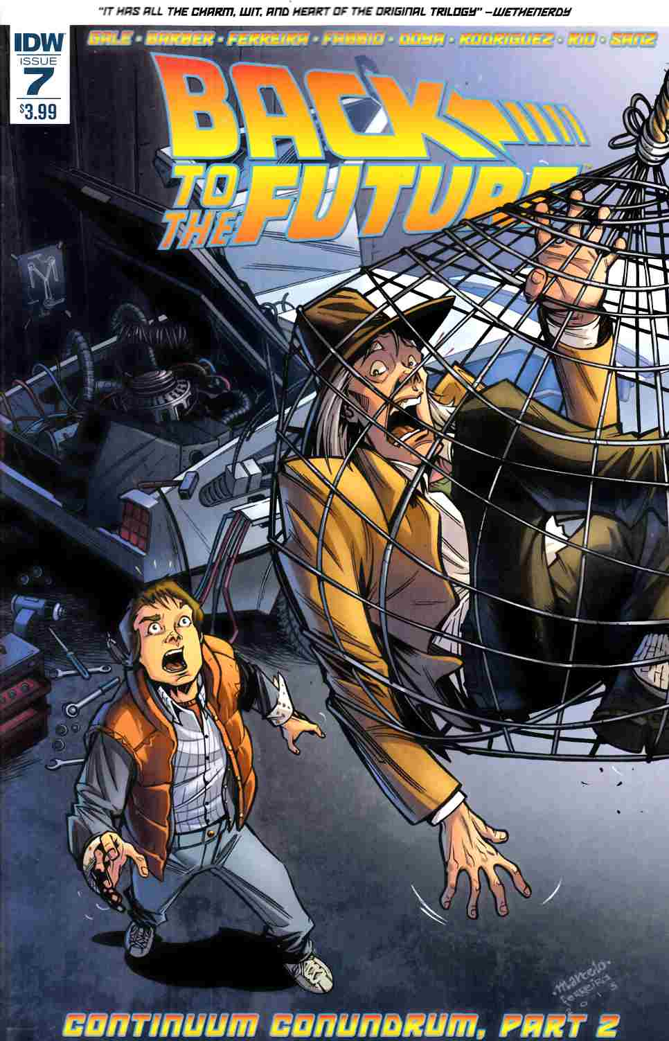 Back to the Future #7 [IDW Comic] THUMBNAIL