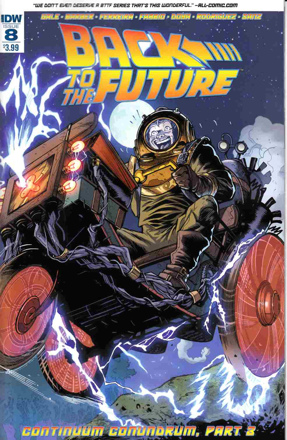 Back to the Future #8 [IDW Comic] THUMBNAIL