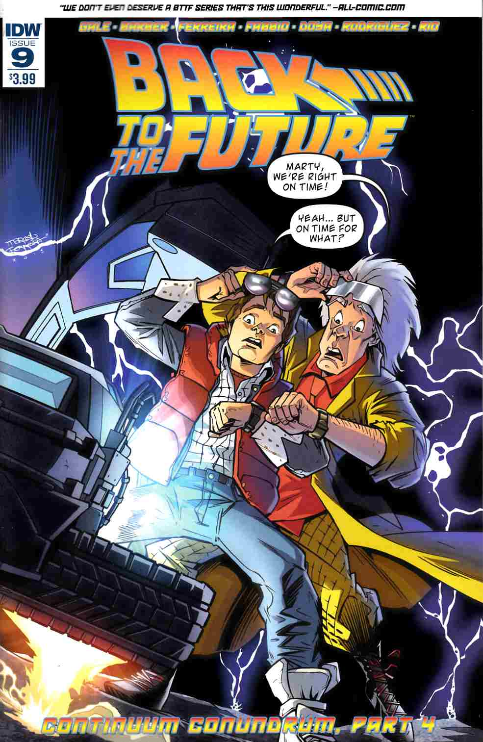 Back to the Future #9 [IDW Comic] THUMBNAIL