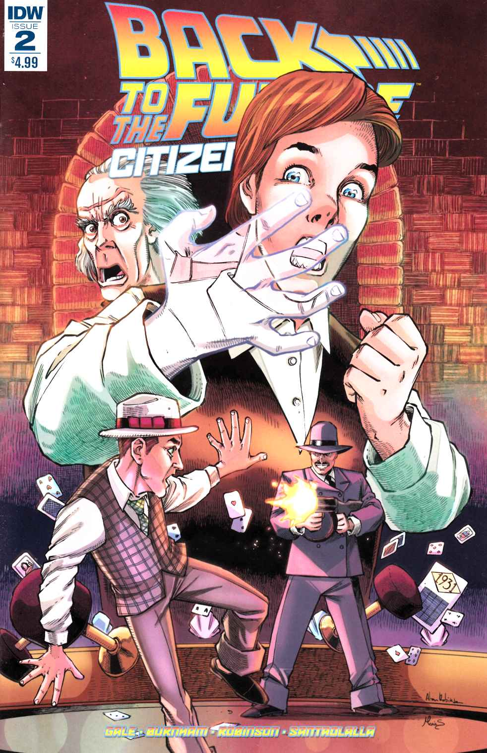Back to the Future Citizen Brown #2 [IDW Comic]