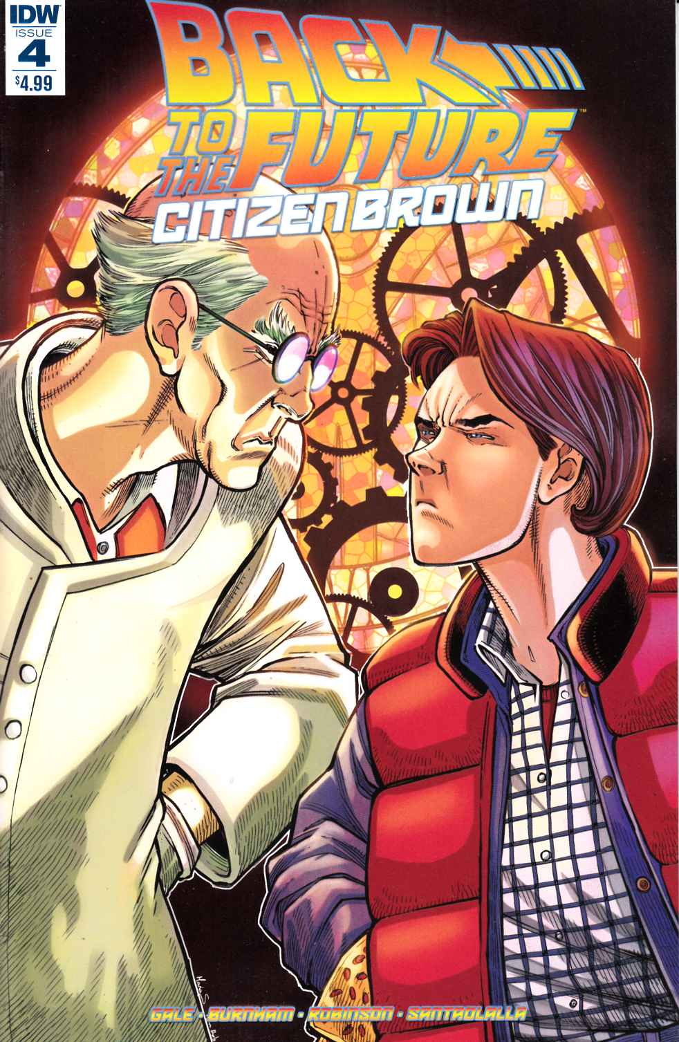 Back to the Future Citizen Brown #4 [IDW Comic]