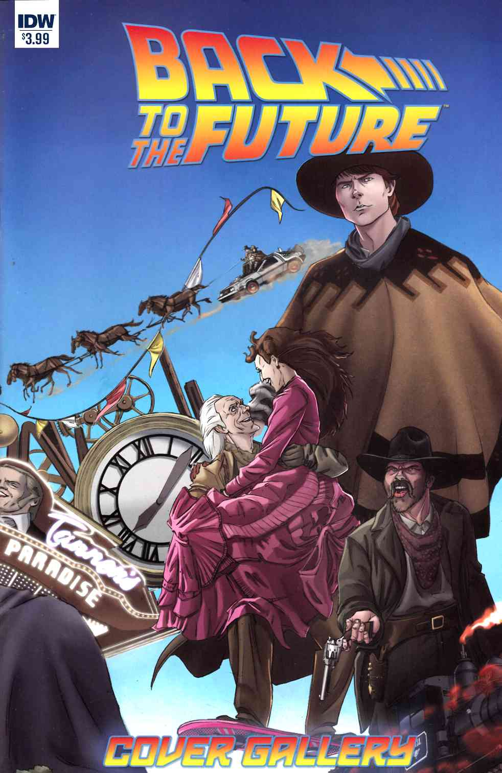 Back To The Future Cover Gallery [IDW Comic] THUMBNAIL