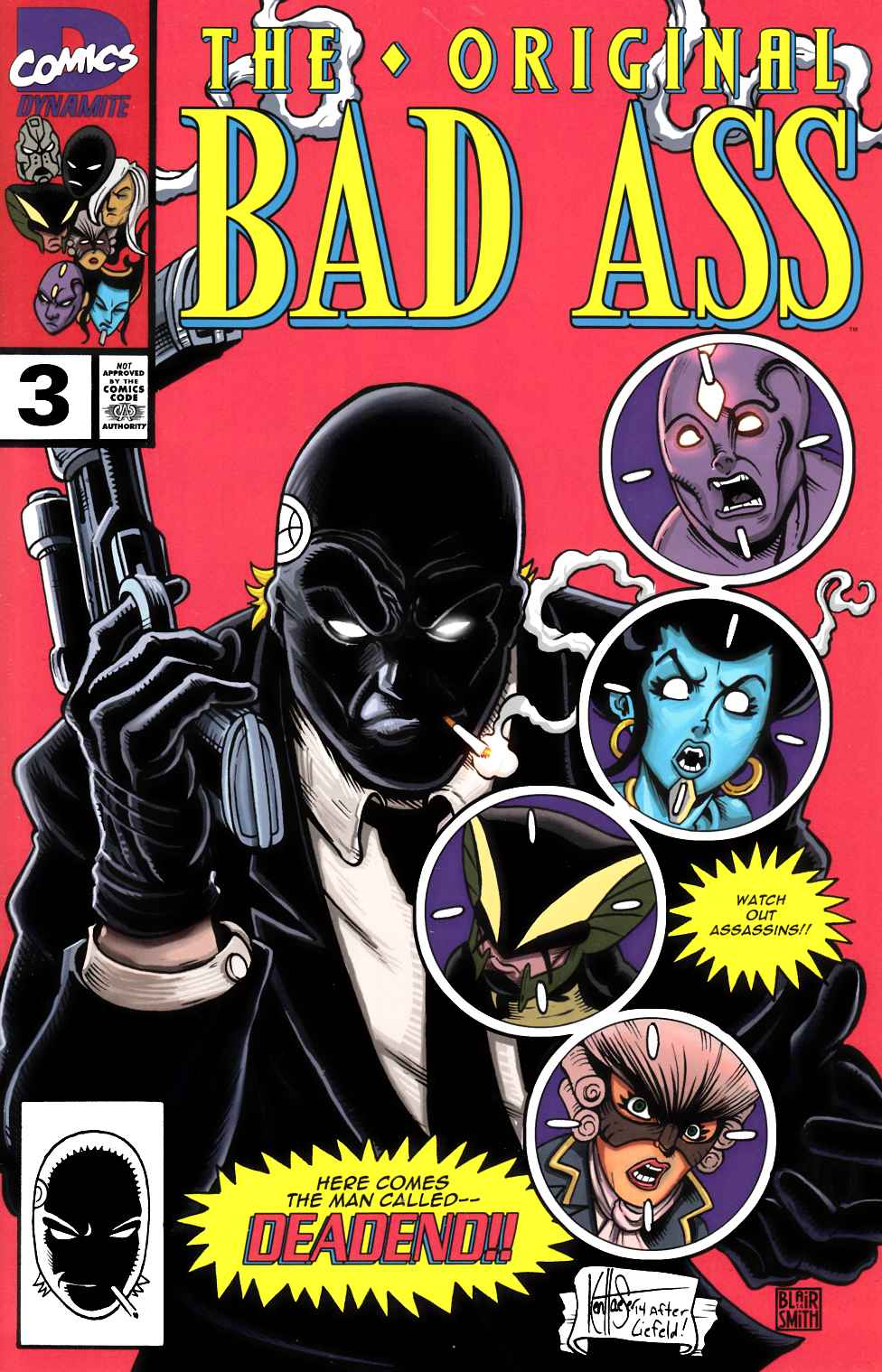 Bad Ass #3 Haeser Homage Cover [Dynamite Comic] THUMBNAIL