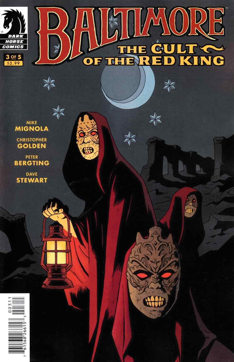 Baltimore Cult of the Red King #3 [Dark Horse Comic]