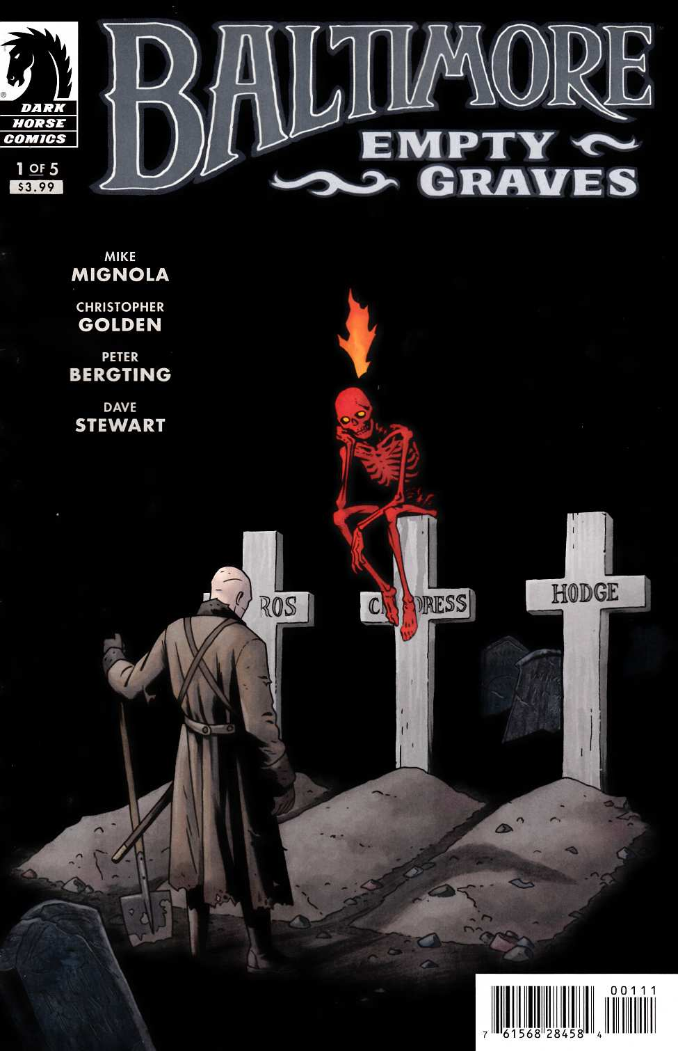 Baltimore Empty Graves #1 [Dark Horse Comic] THUMBNAIL