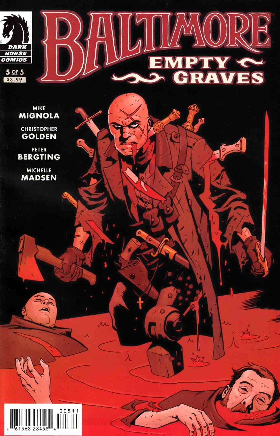 Baltimore Empty Graves #5 [Dark Horse Comic] THUMBNAIL