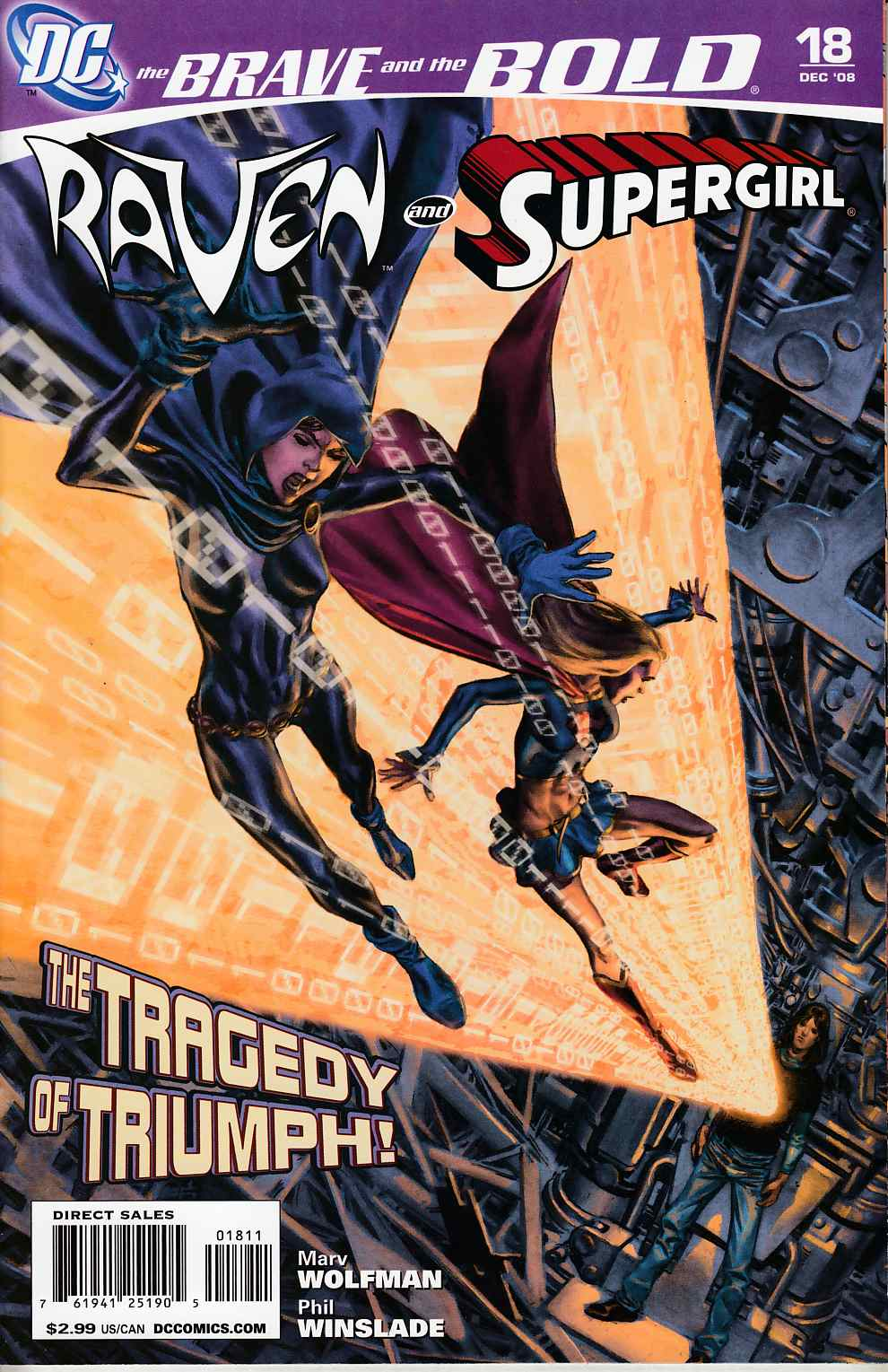 Brave and the Bold #18 Near Mint (9.4) [DC Comic] THUMBNAIL