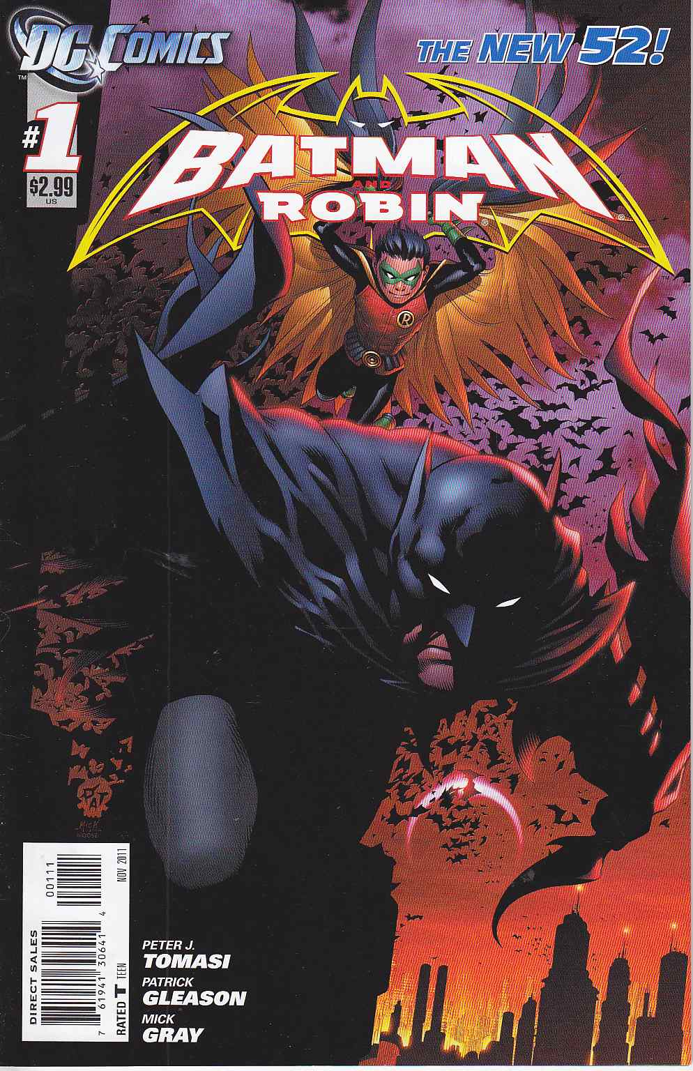 Batman And Robin #1 [DC Comic] THUMBNAIL