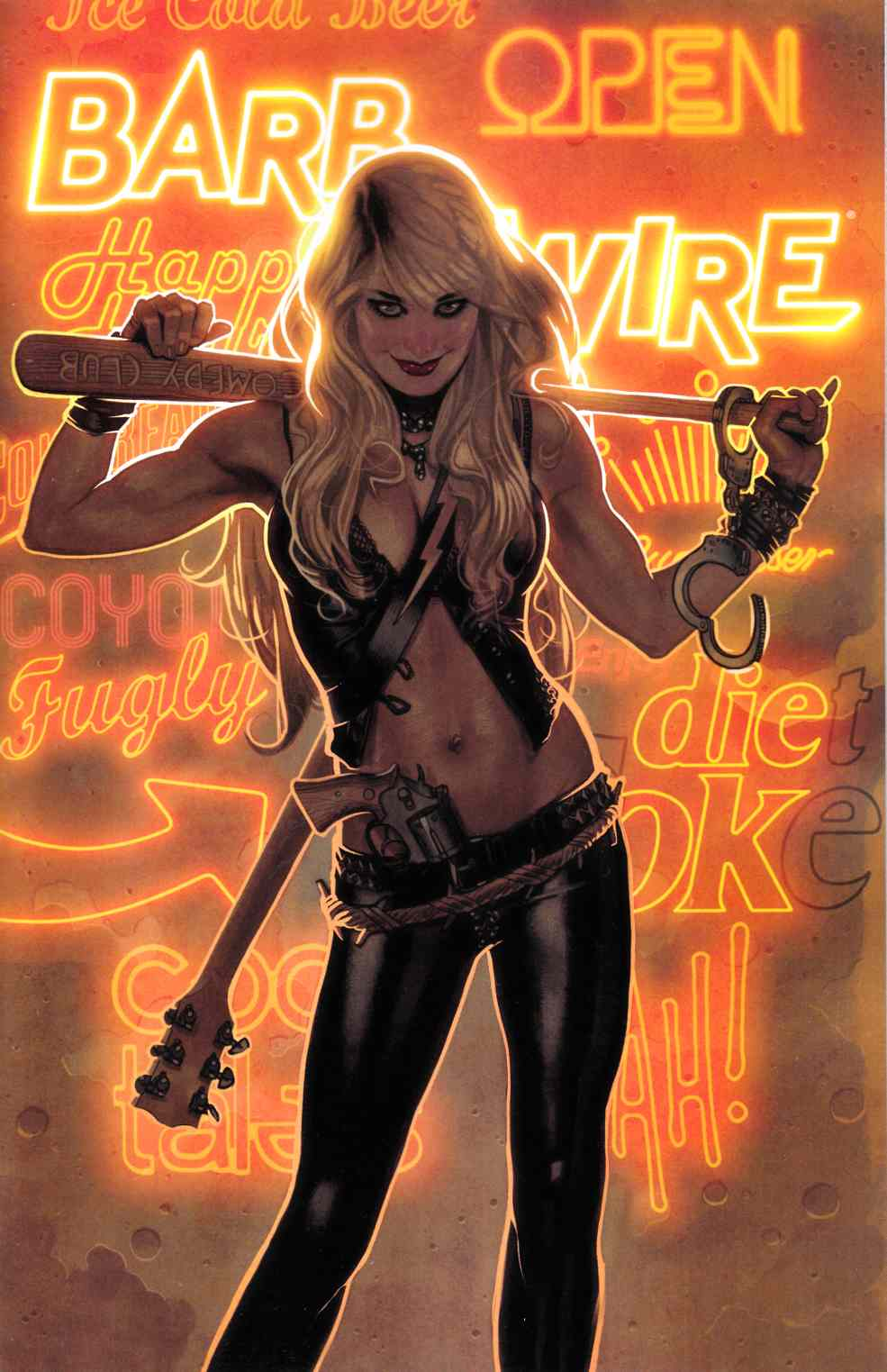 Barb Wire #1 [Dark Horse Comic] THUMBNAIL