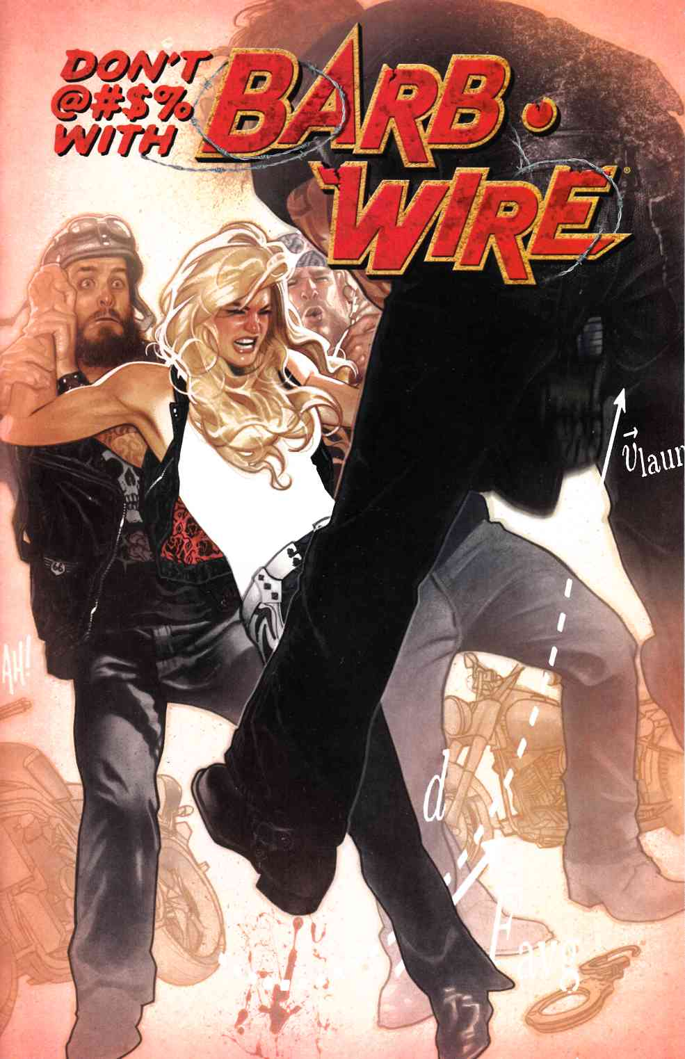 Barb Wire #1 Hughes Variant Cover [Dark Horse Comic]