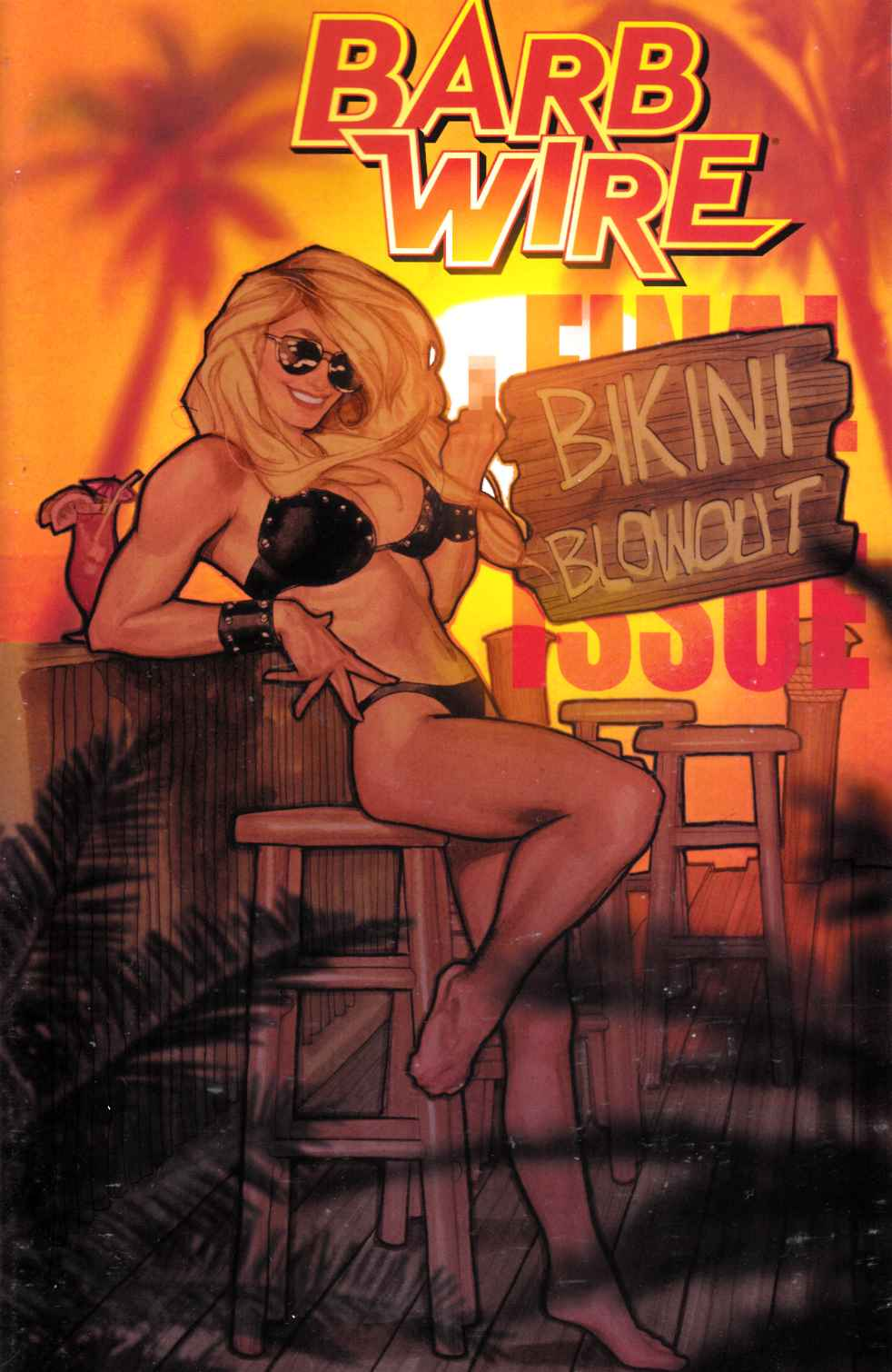 Barb Wire #8 [Dark Horse Comic] THUMBNAIL