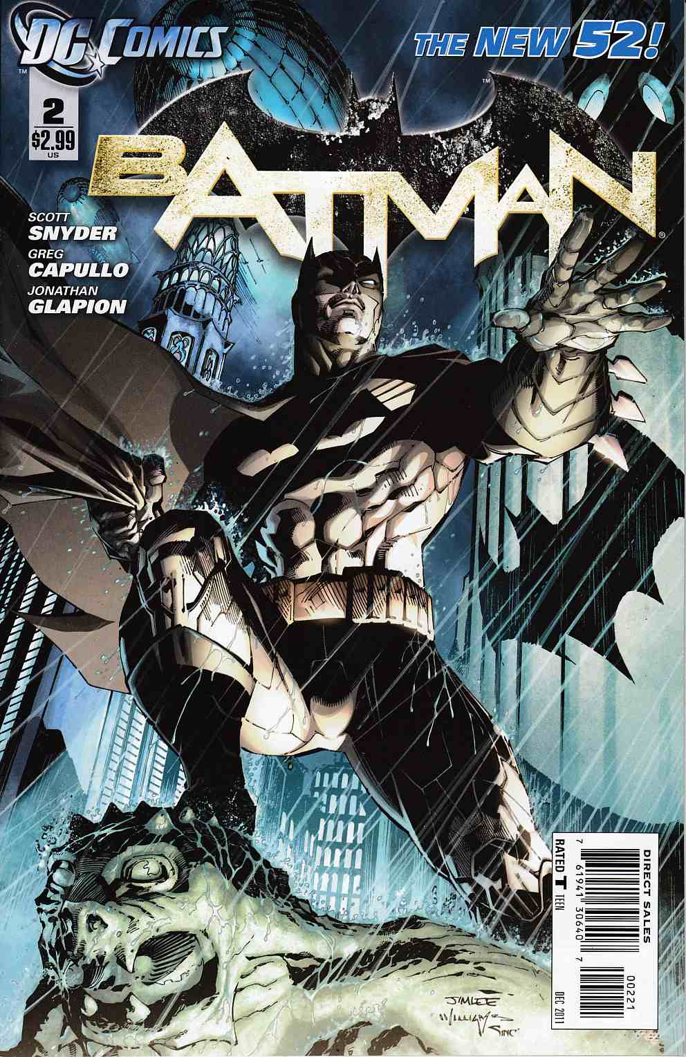 Batman #2 Jim Lee Variant Cover Near Mint (9.4) [DC Comic]_THUMBNAIL