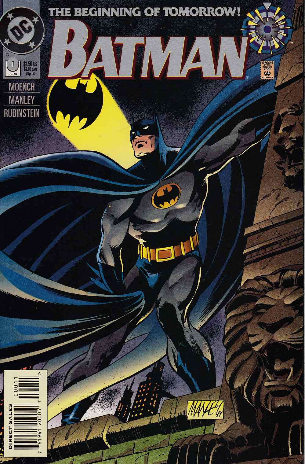 Batman #0 Near Mint (9.4) [DC Comic]
