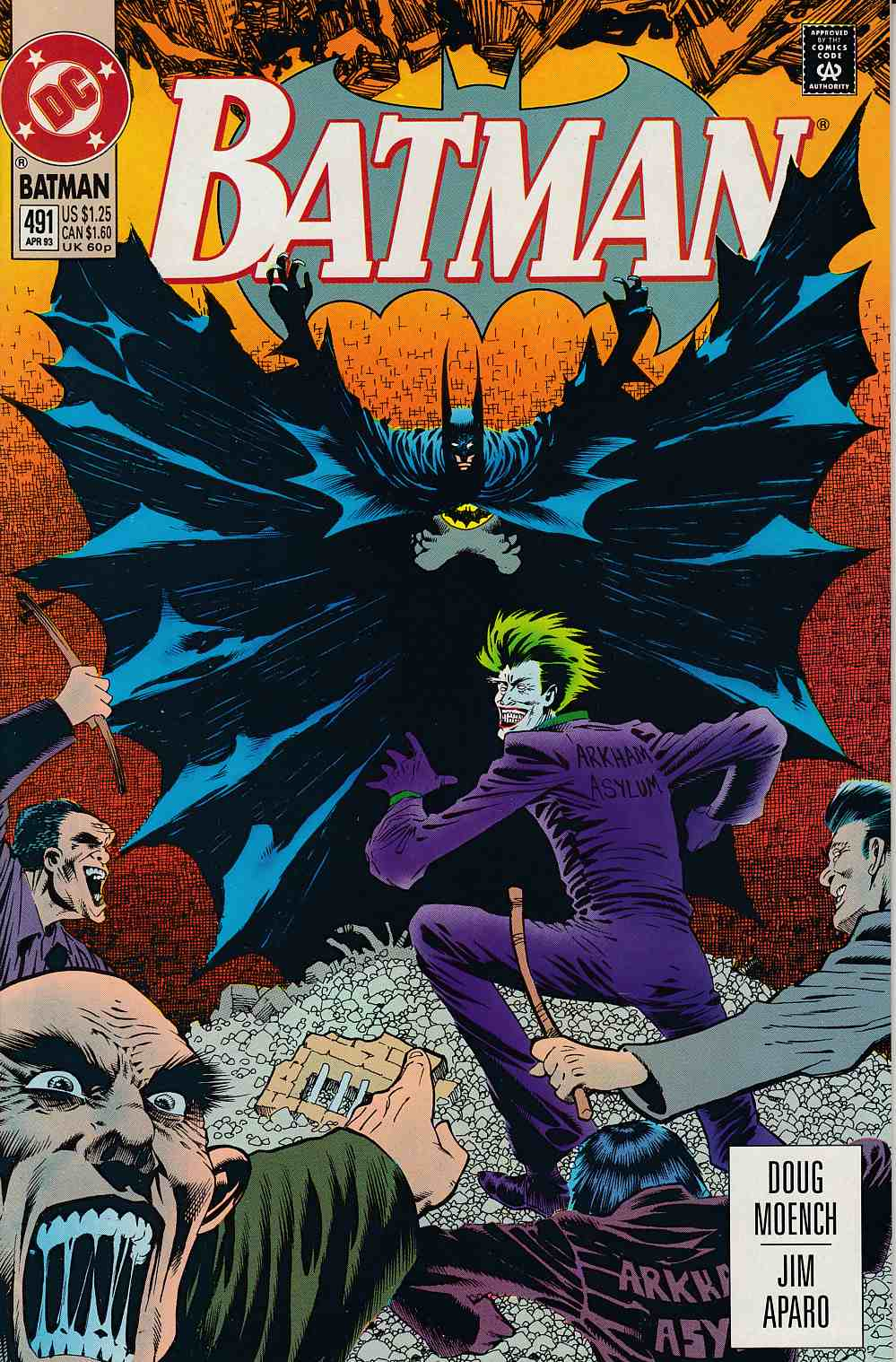 Batman #491 Near Mint (9.4) [DC Comic] LARGE