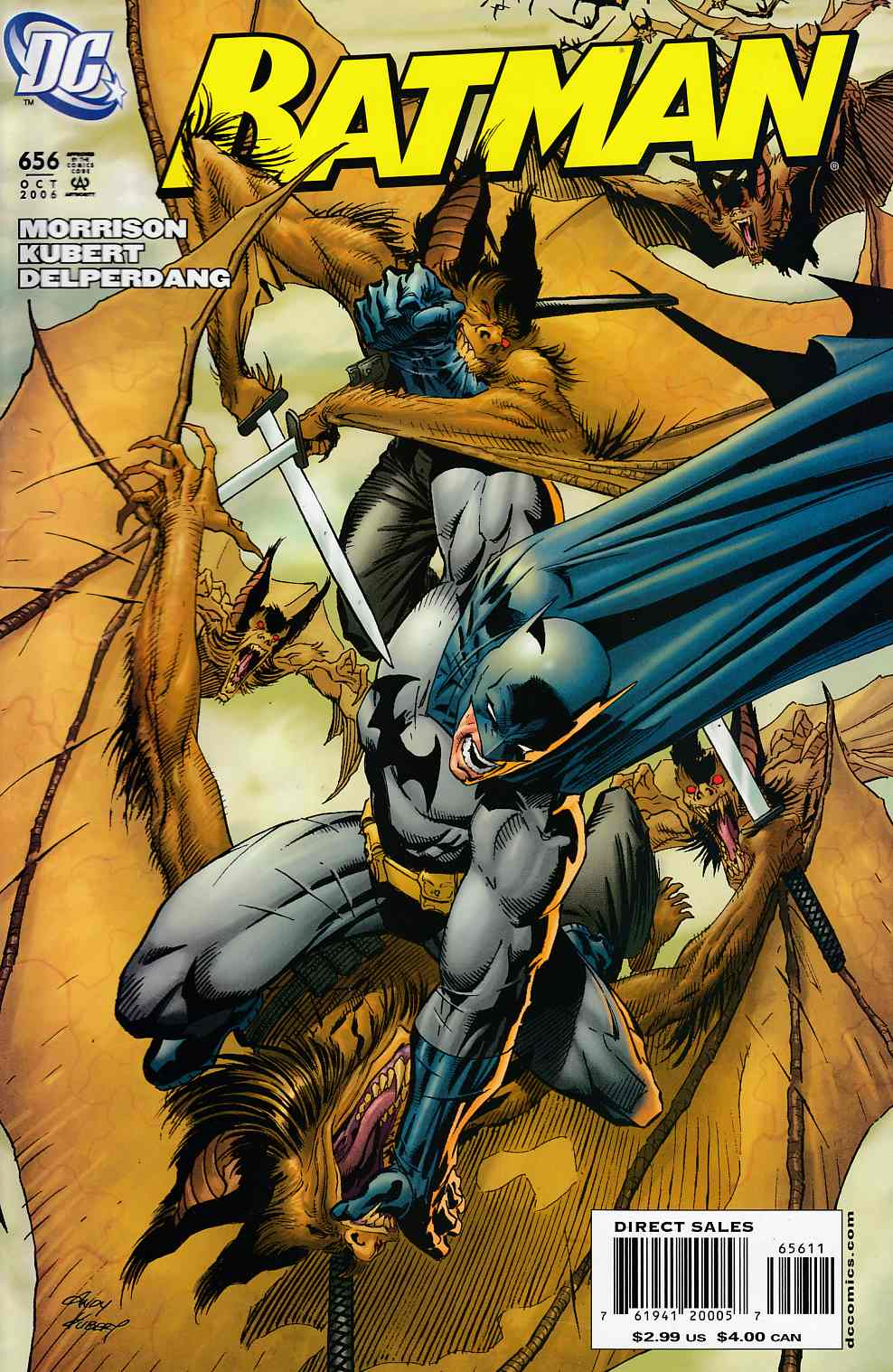 Batman #656 Very Fine Minus (7.5) [DC Comic}_THUMBNAIL