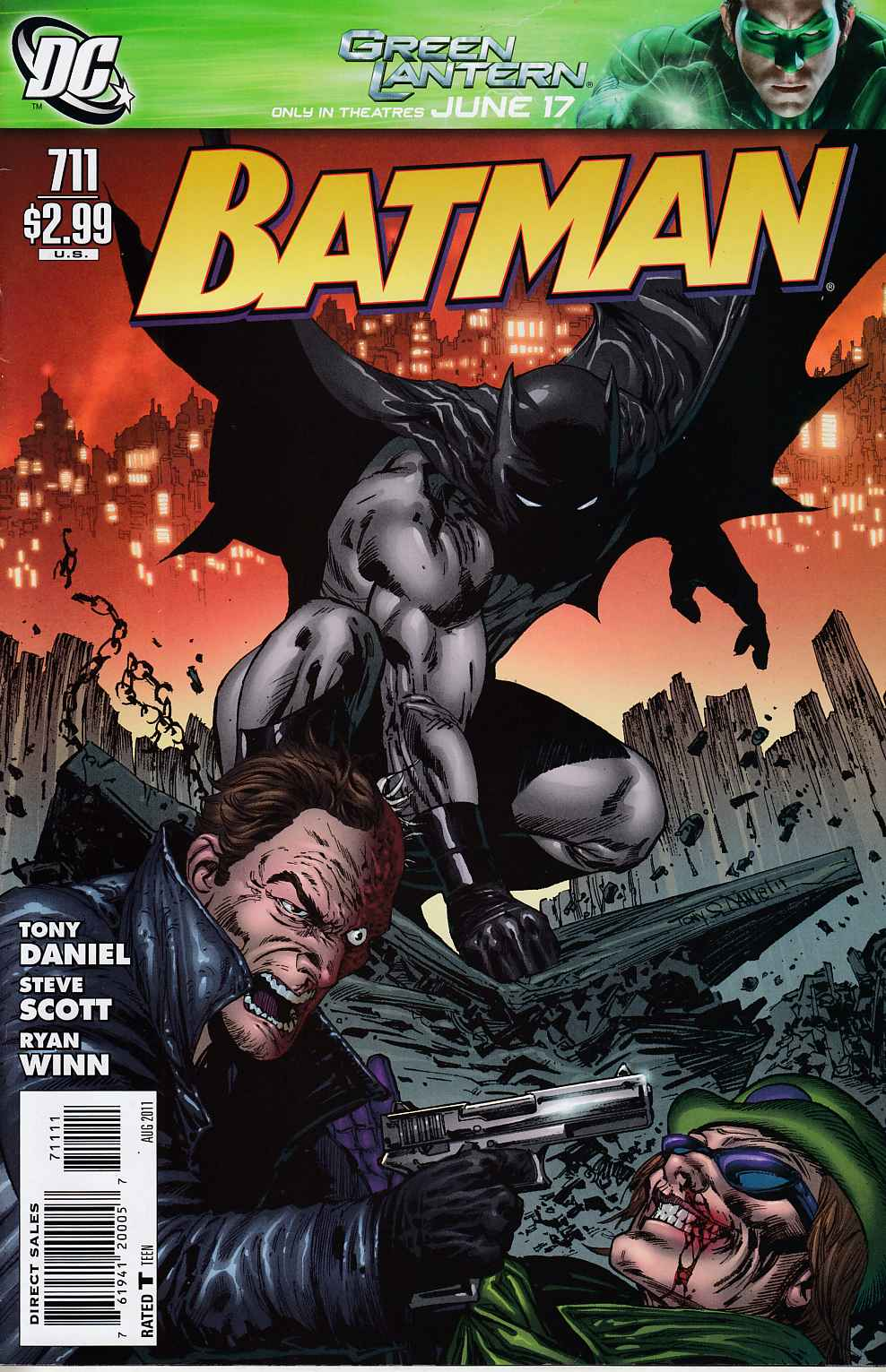 Batman #711 Very Fine (8.0) [DC Comic] LARGE