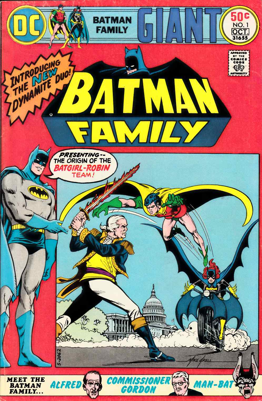 Batman Family #1 [DC Comic] THUMBNAIL
