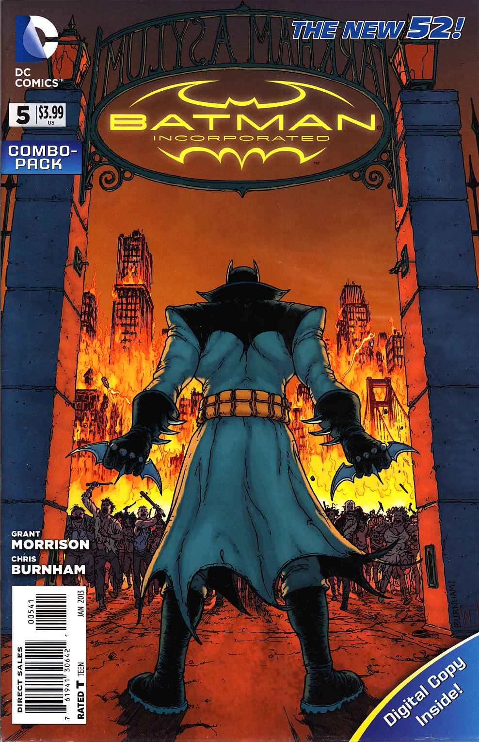 Batman Incorporated #5 Combo Pack [DC Comic] THUMBNAIL
