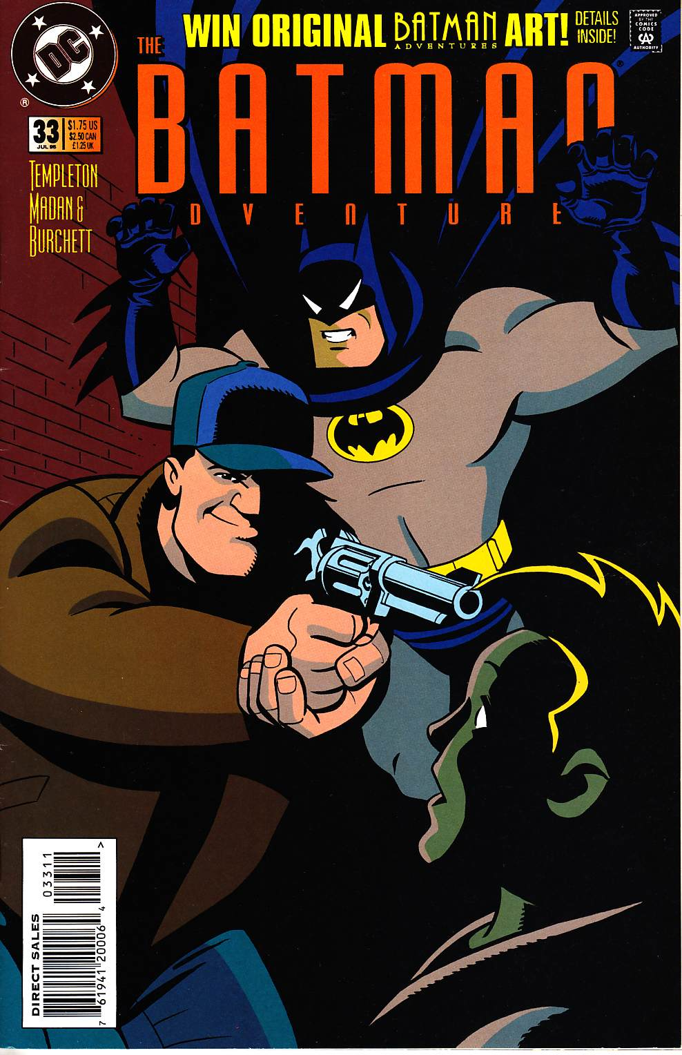 Batman Adventures #33 [DC Comic] THUMBNAIL