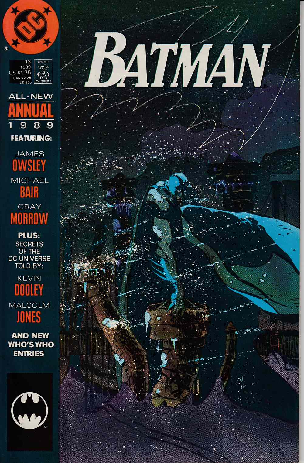 Batman Annual #13 Very Fine (8.0) [DC Comic] LARGE