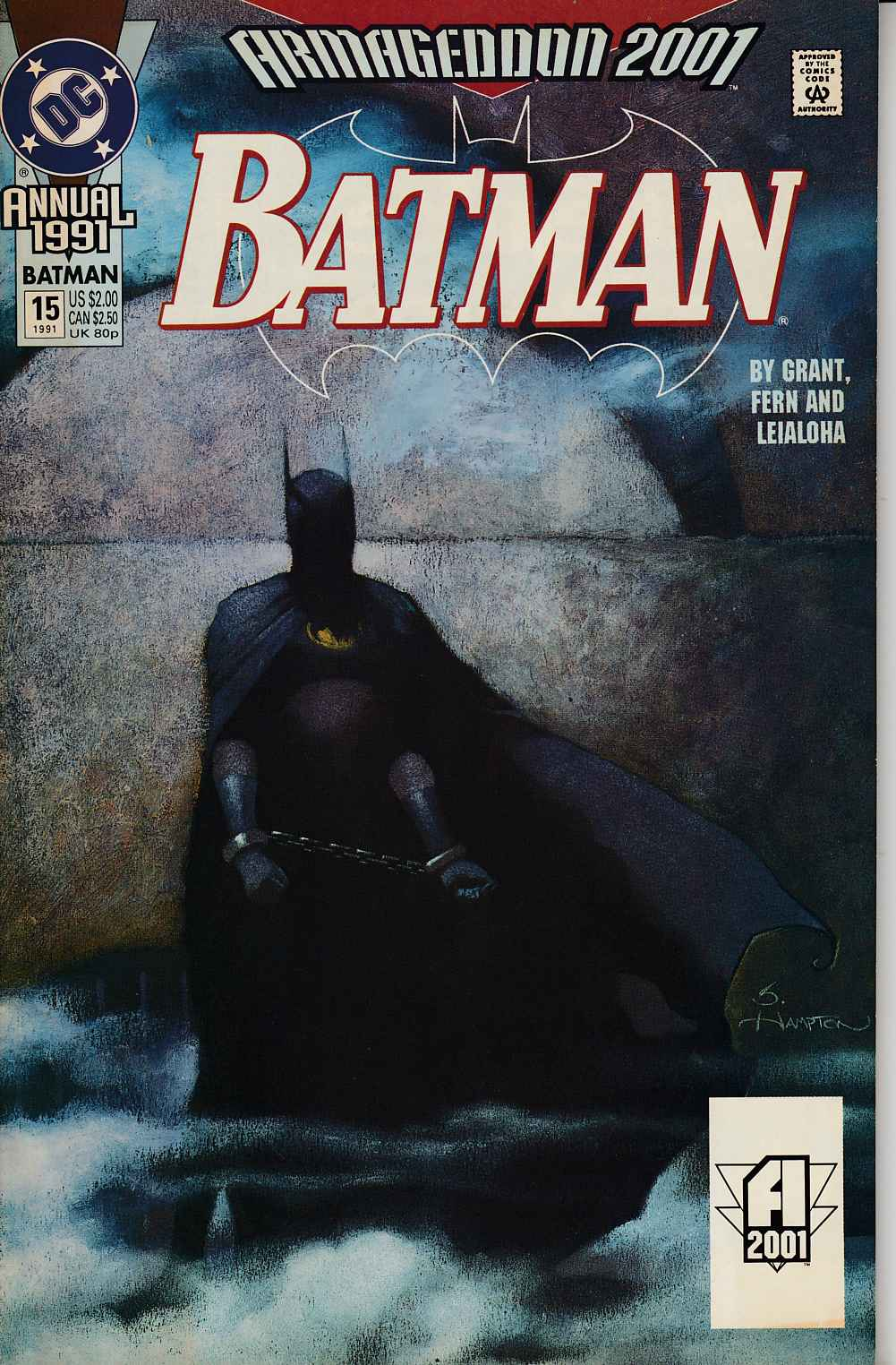 Batman Annual #15 Very Fine (8.0) [DC Comic] LARGE