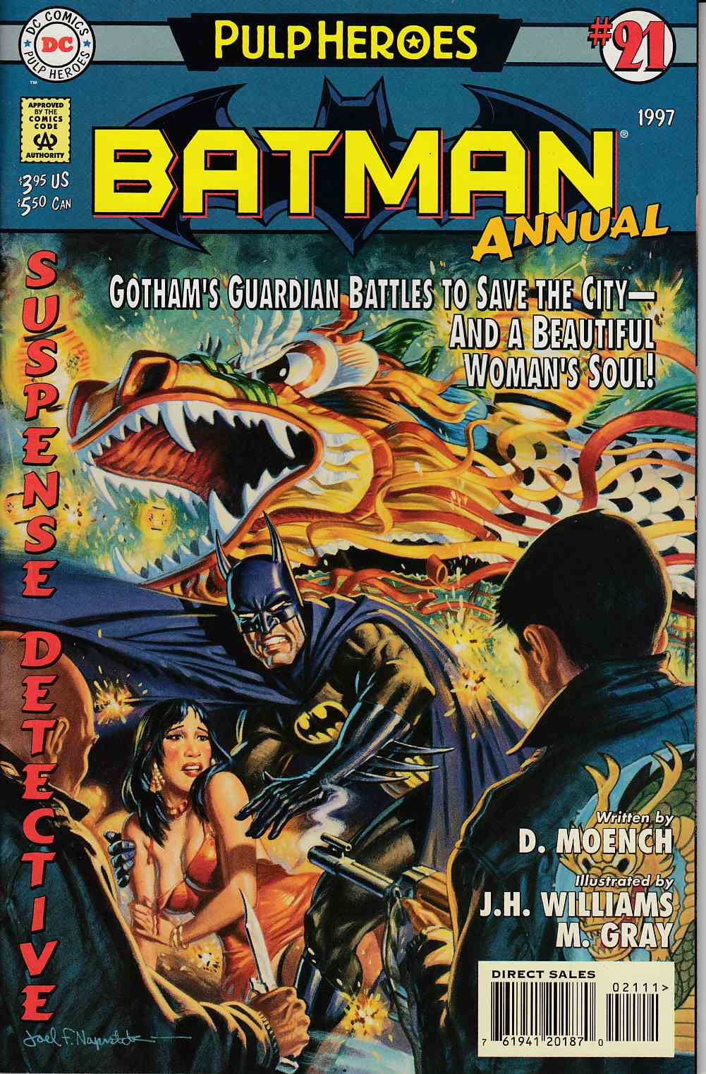Batman Annual #21 Near Mint (9.4) [DC Comic] LARGE