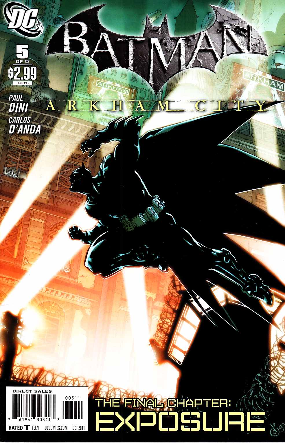 Batman Arkham City #5 [DC Comic]_THUMBNAIL