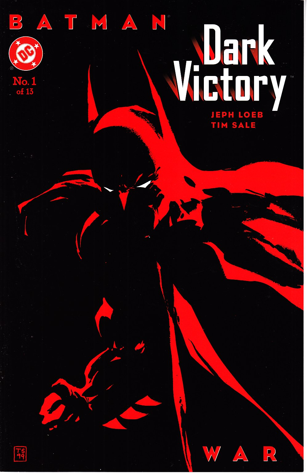 Batman Dark Victory #1 [DC Comic] LARGE