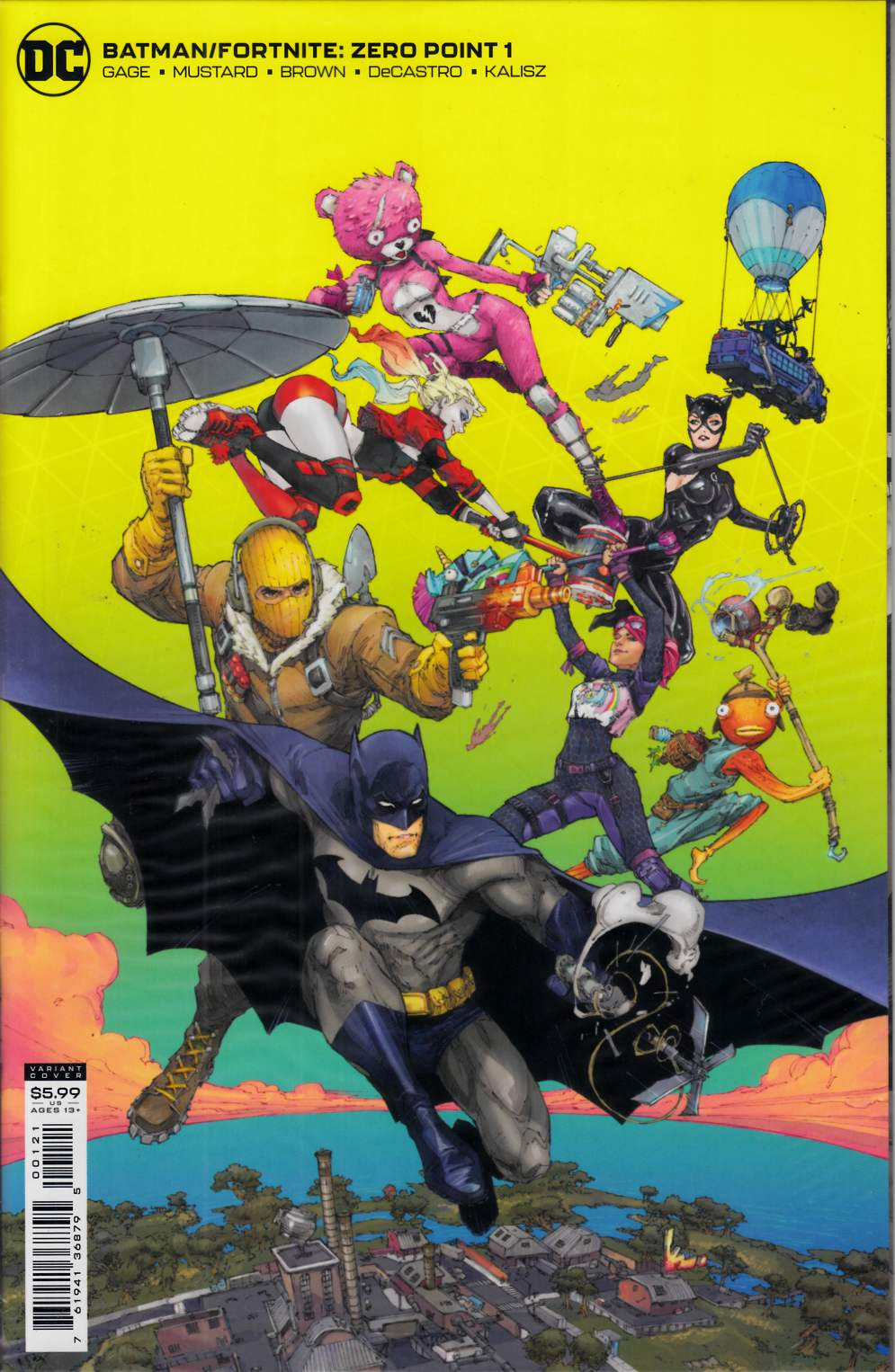Batman Fortnite Zero Point #1 Rocafort Variant Cover Near Mint (9.4) [DC Comic] LARGE