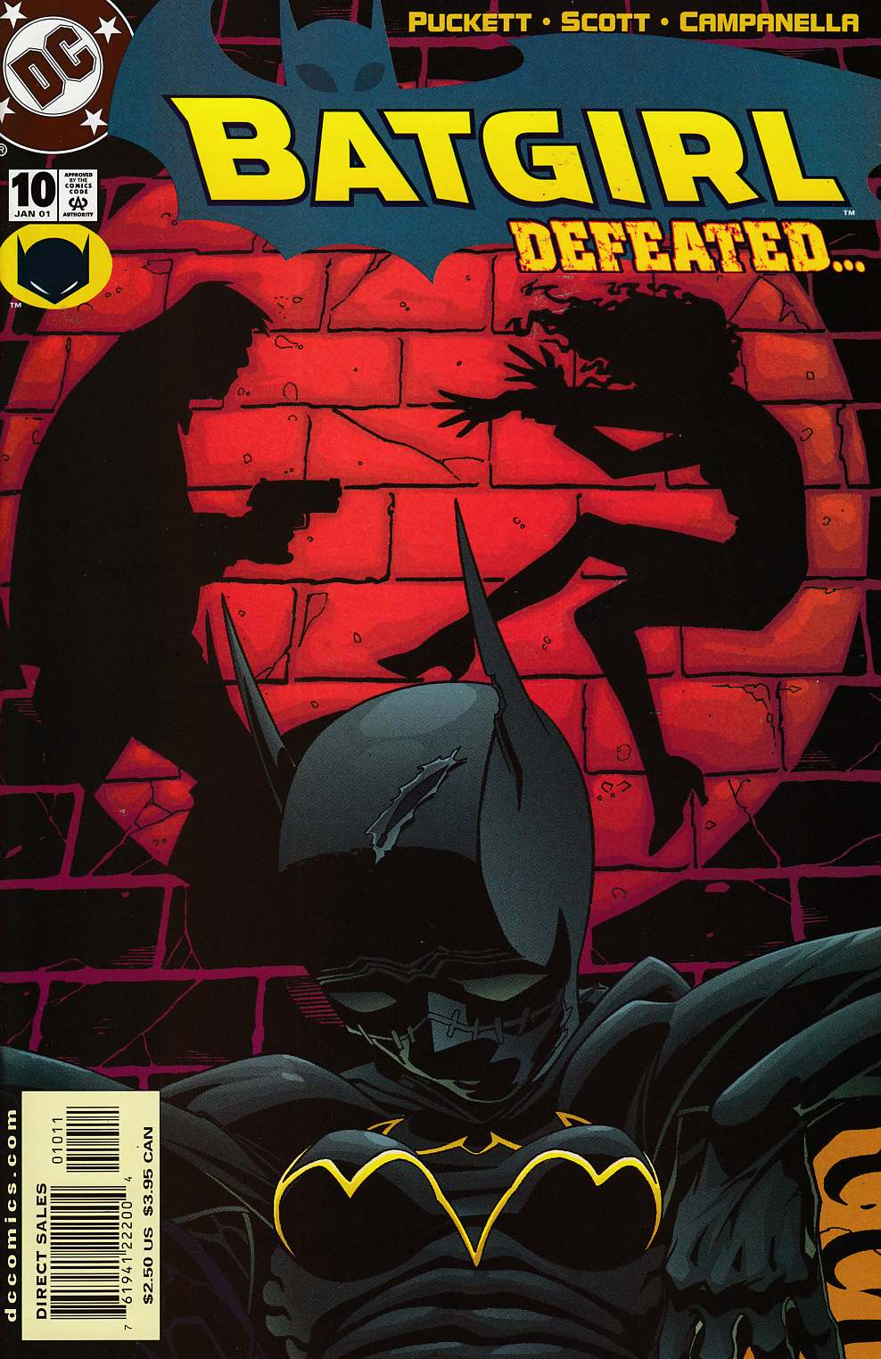 Batgirl #10 Near Mint (9.4) [DC Comic] LARGE