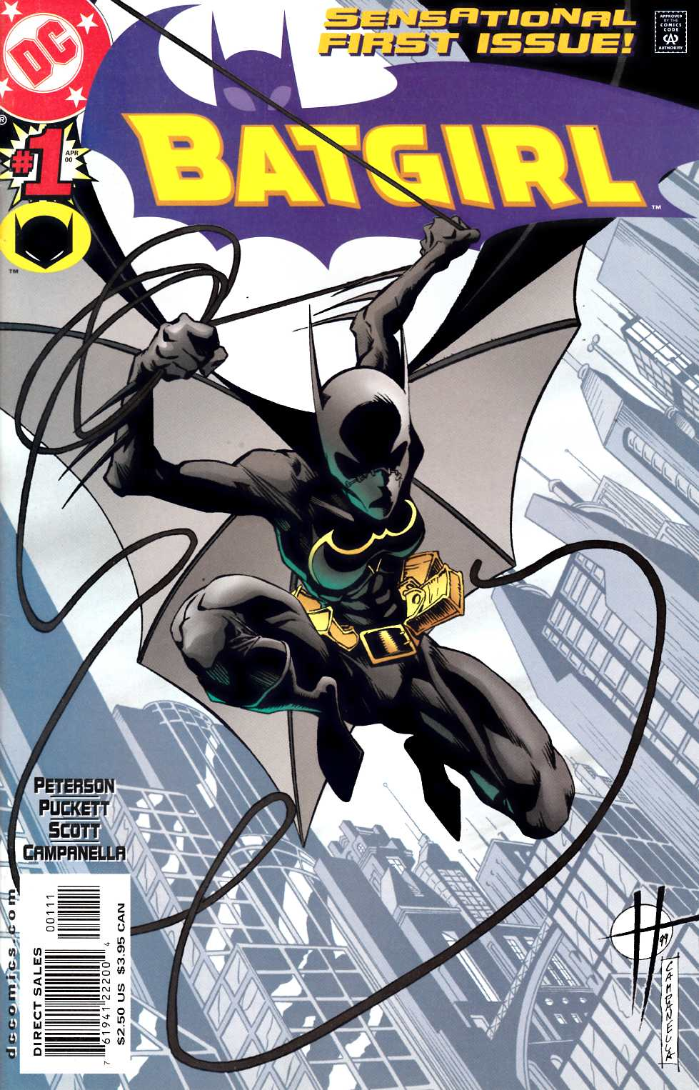Batgirl #1 Very Fine Plus (8.5) [DC Comic] THUMBNAIL