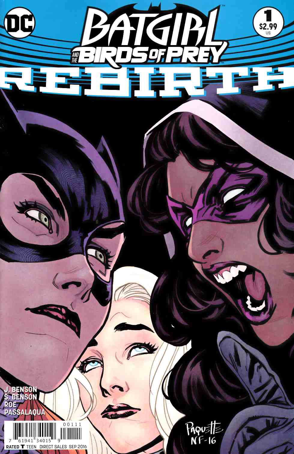 Batgirl and the Birds of Prey Rebirth #1 [DC Comic] LARGE