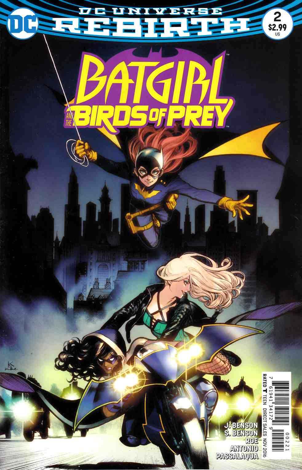 Batgirl and the Birds of Prey #2 Shirahama Variant Cover [DC Comic] LARGE