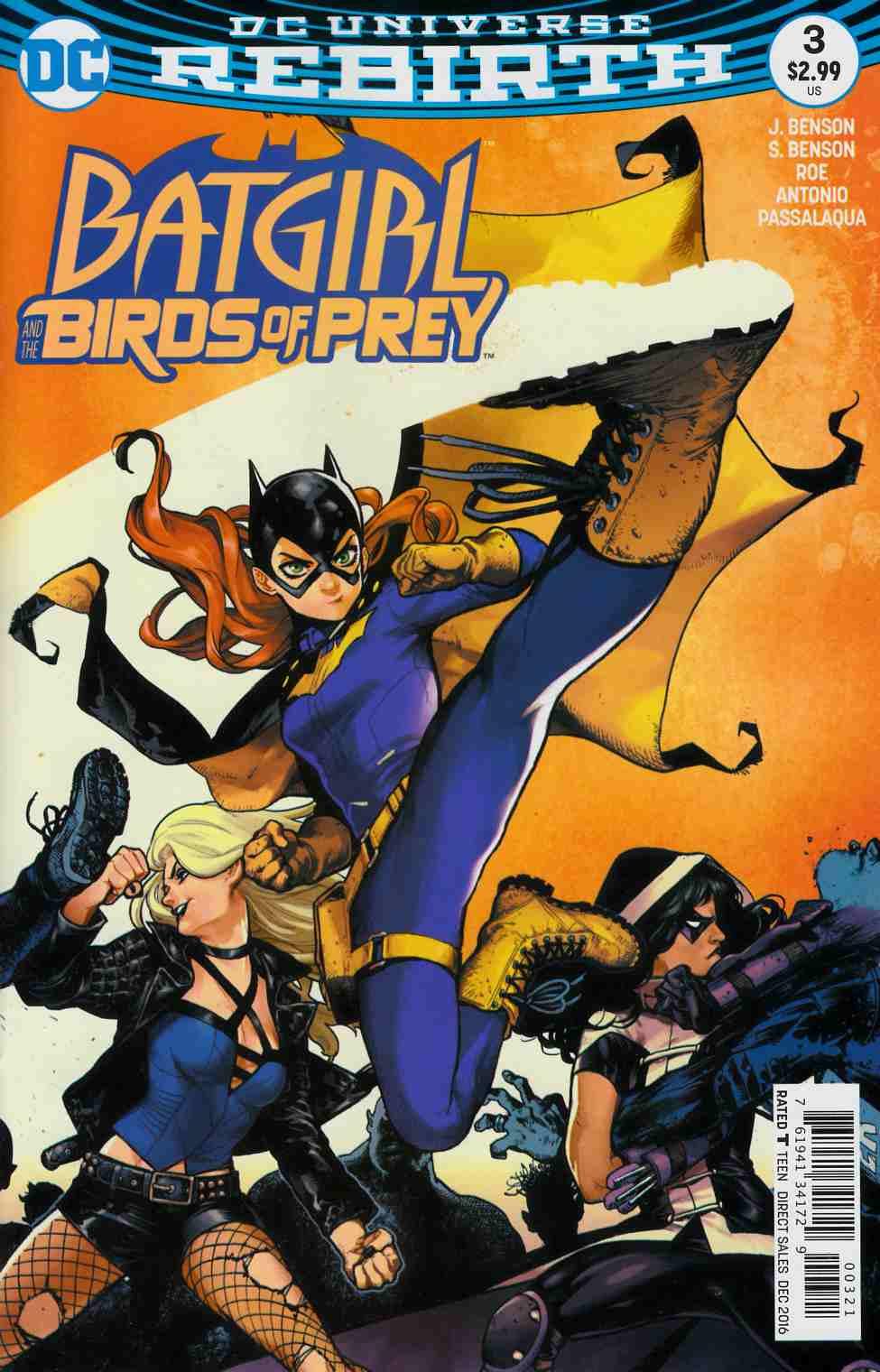 Batgirl And The Birds Of Prey 3 Shirahama Variant Cover Dc Comic Dreamlandcomics Com Online Store