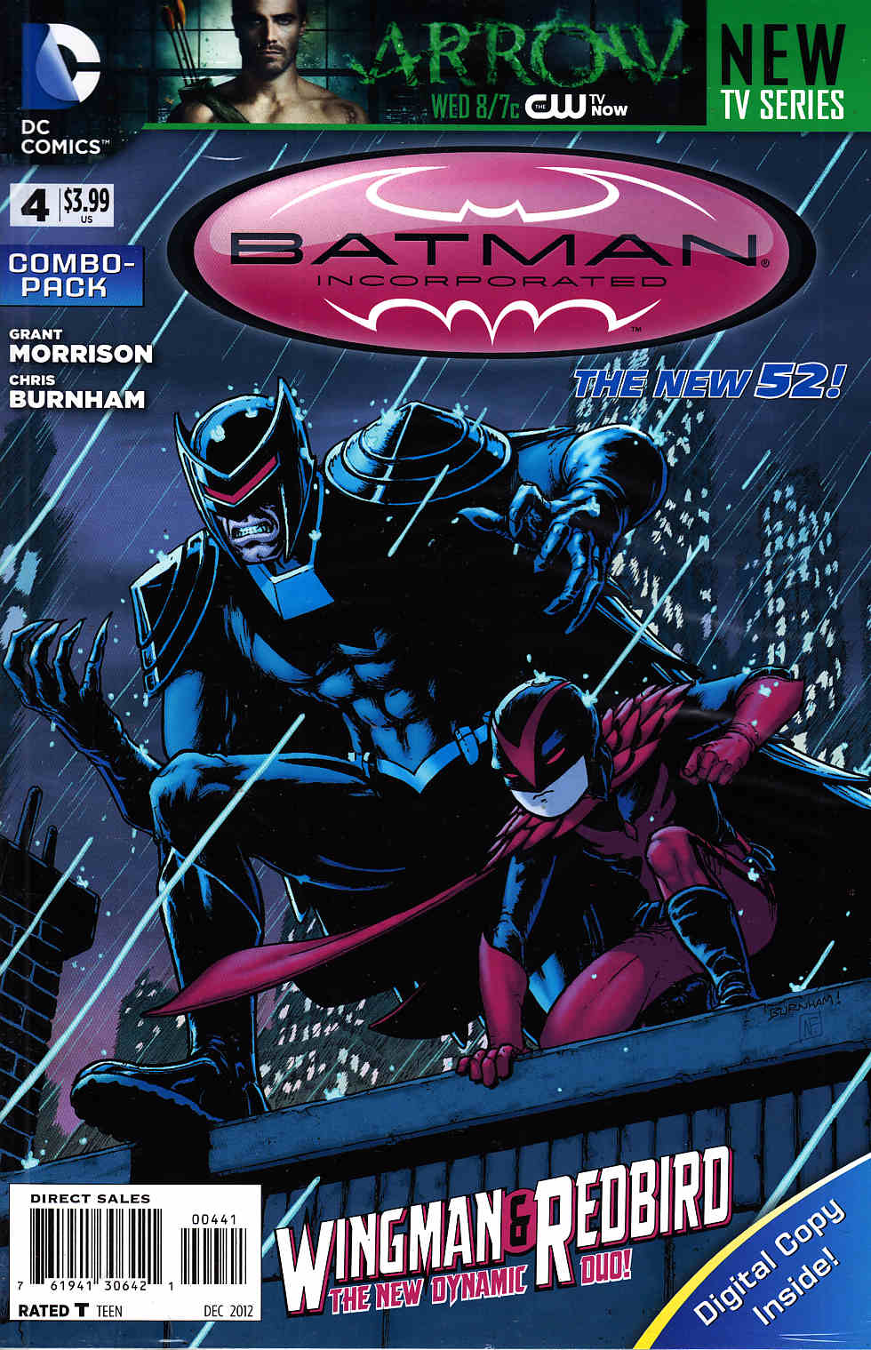 Batman Incorporated #4 Combo Pack [DC Comic] THUMBNAIL