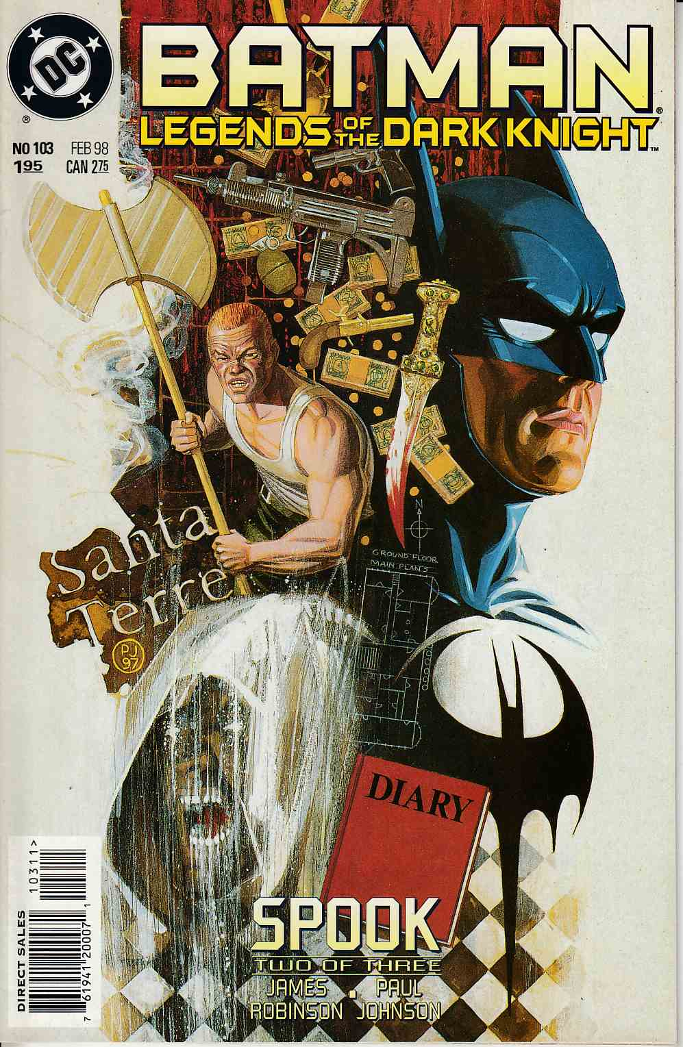 Batman Legends of the Dark Knight #103 Near Mint (9.4) [DC Comic] LARGE