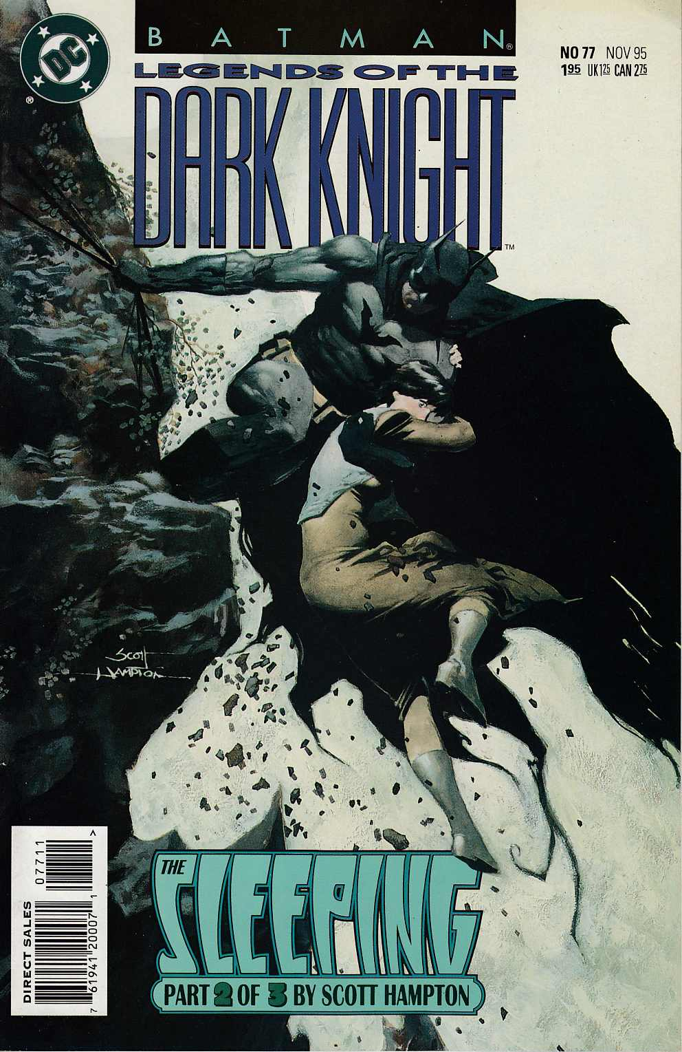 Batman Legends of the Dark Knight #77 Very Fine (8.0) [DC Comic] LARGE