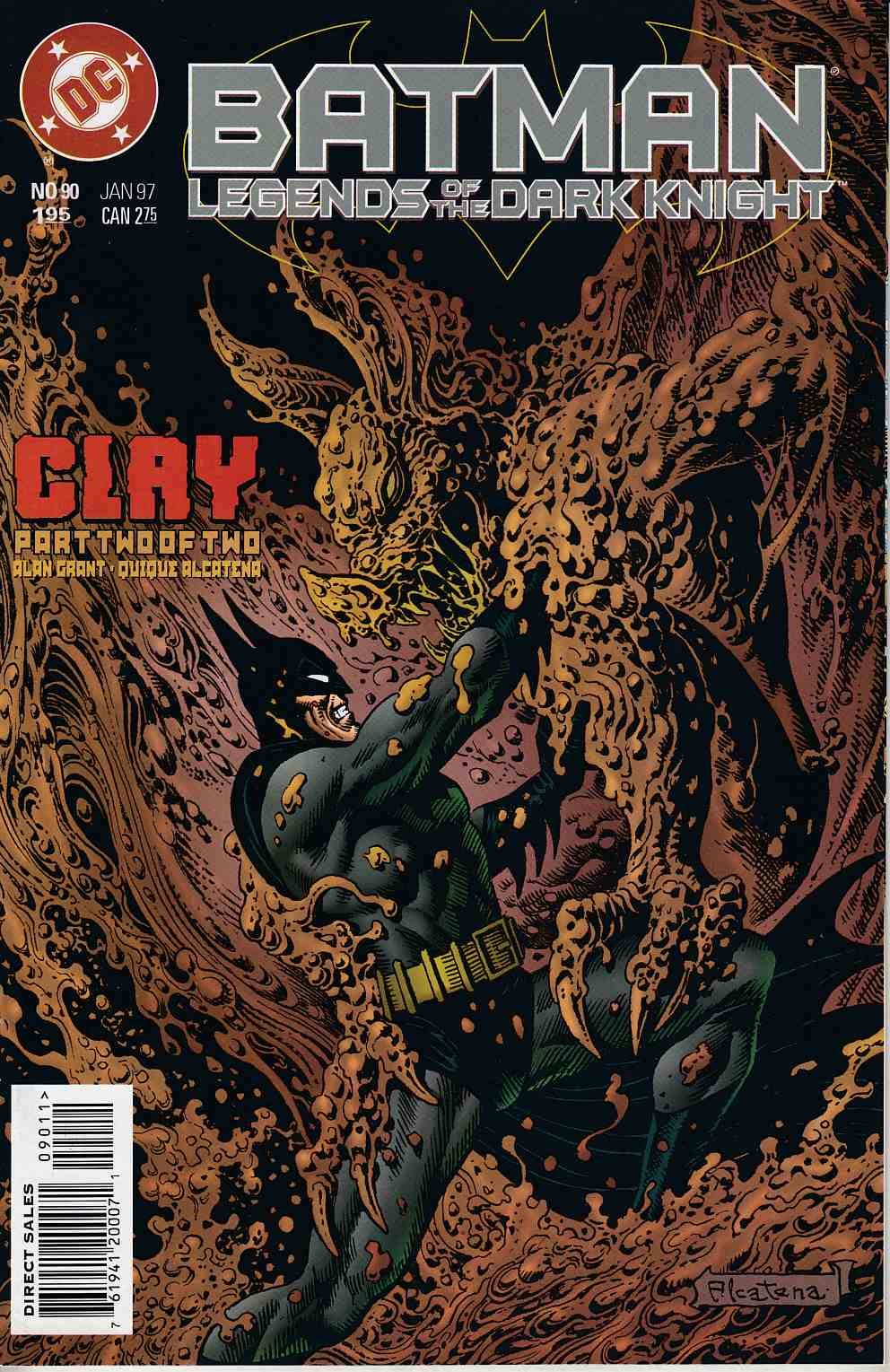 Batman Legends of the Dark Knight #90 Very Fine (8.0) [DC Comic] LARGE