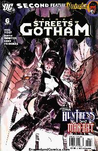 Batman: streets of gotham #6 LARGE